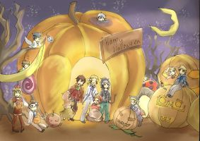 APH : Con Halloween by TheShakunai