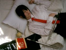 KHR :: Sleep.. my dear Kyoya by Black--Deamon