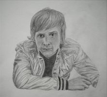 Dominic Howard -Commission- by epilogues