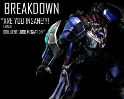 Breakdown Wallpaper by Lordstrscream94