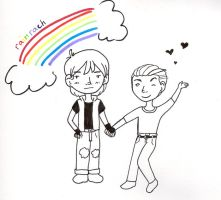 Love and Rainbows by nekobecki