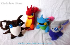 +Plush+ Four Basic Djinn by Darling-Poe