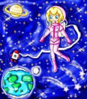 AT. space suit peach by ninpeachlover