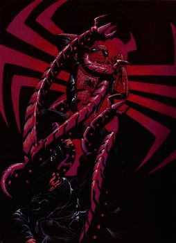 doc ock spidey colored by Sigint