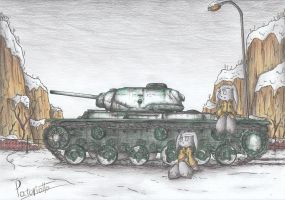 KV-1S Tank by Patoriotto