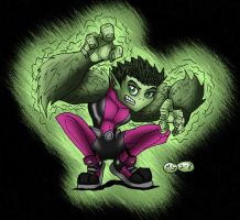 Beast Boy by What-the-Gaff