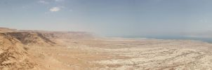 Masada Panorama by greenjinjo