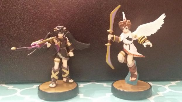 Amiibo Collection #4: Kid Icarus by GDKPhotography