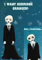I WANT HERMIONE GRANGER! And a rocketship... by hannamaia