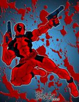 Deadpool - again by pascal-verhoef