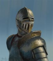 Knight by PavelBaghy