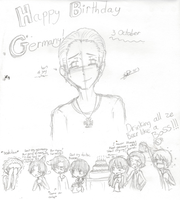 Happy Birthday Germany by girlsrl