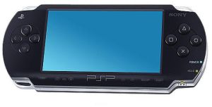 Sony PSP Drawing by Flame-X