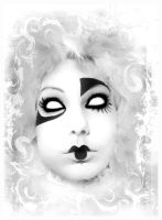 _Pierrot the clown_ by SistaofPain