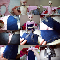 Sewing for BJDs: Jumper-2 by super-spazz-muffin