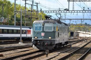 SBB Re 4-4 II 11161 by SwissTrain