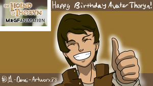 Happy Birthday AvatarThoryn!! by Artworx88
