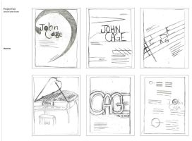 Typography Poster Sketches III by Bezmo