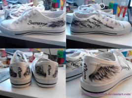 Dream Wings Shoes by Bloodysfish