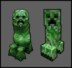 Minecraft Creeper by PhillGonzo