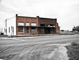 Abandoned Storefront Fluvanna by Oultre