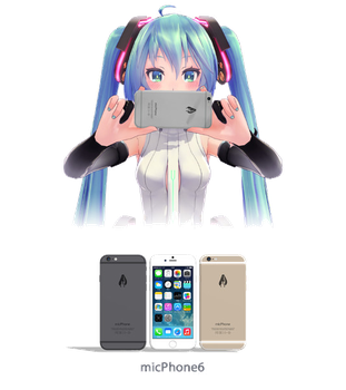[MMD] micPhone6 DL by xMogeChuu