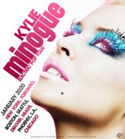 Kylie Minogue Tour Poster by rjartwork
