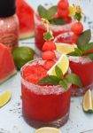 Watermelon Granita - Perfect For A Hot Summer Day by theresahelmer