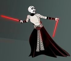 Asajj Ventress by Azchara