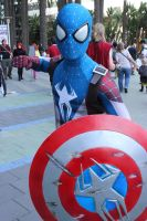 wondercon 2015 - captain  spider-man by antshadow13