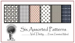 Twisted Mind Assorted Pattern Set 30 by Textures-and-More