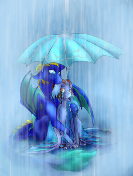 Rainfall by GoldenGriffiness