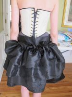 Skirt and Corset Set 2 Back by italktotherain