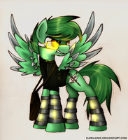 Cybergreen! by KairaAnix