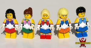 LEGO Sailor Moon by Saber-Scorpion