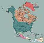 North America in 1920 by TheAresProject