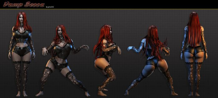 Vamp Becca Character Sheet 2013 by grico316