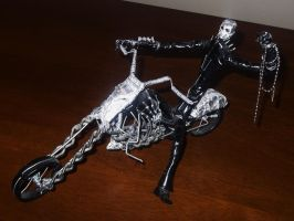 GHOST RIDER in wire by TheWallProducciones