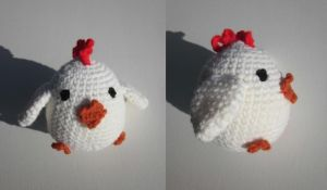 Amigurumi Chicken by Oni4219