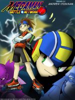 Mega Man Battle Network Cover by AndrewDickman