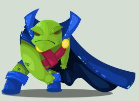 Martian Manhunter by vancamelot