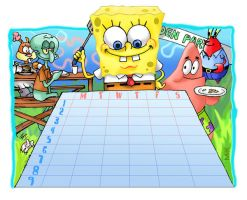 Spongebob timeTable by mikmix
