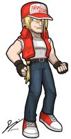 Terry Bogard by SandikaRakhim