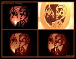 Victor pumpkin Carving by QGildea