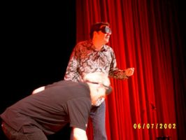 Brad Sherwood  Colin Mochrie I by BratBassist
