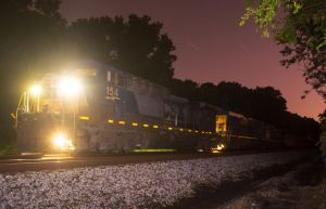 CSX lost work train 3 by wolvesone