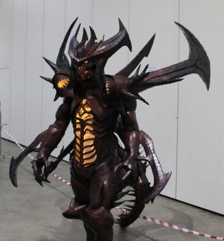 Diablo cosplay 95% completed by Clivelee