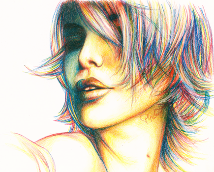 Charlize Theron by creativephlips
