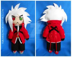 Ragna the bloodedge PLUSH by yuriarrow