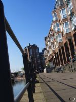 Duesseldorf Old Town by Anupap